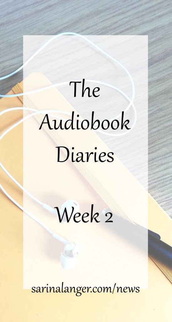 The Audiobook Diaries | Week 2 | An explanation of Voices Plus and the narrator wishlist