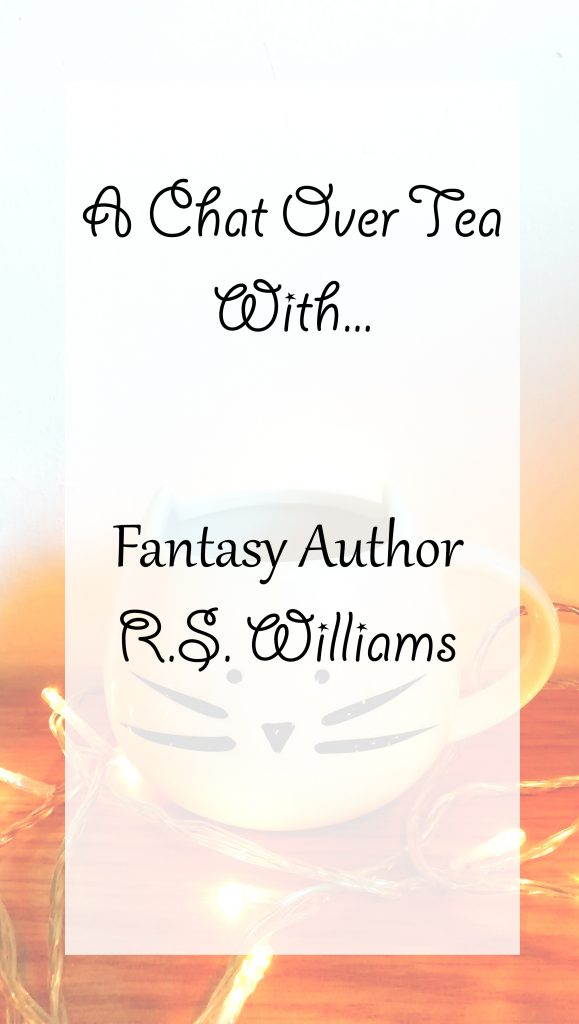 A Chat Over Tea with Fantasy Author Rhianne Williams | Interview banner