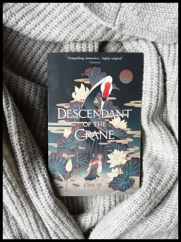 Mini Book Reviews September 2020 |  Descendant of the Crane by Joan He, paperback